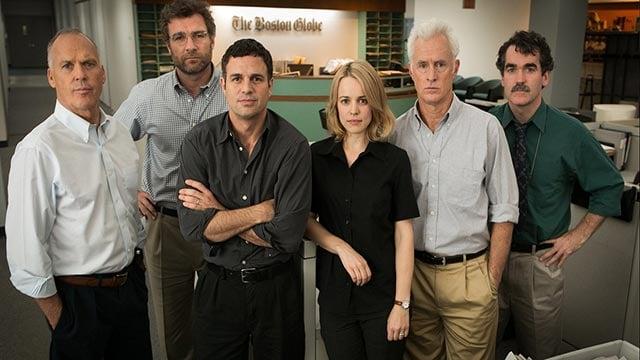 The cast of 'spotlight' (Credit: Open Road Films)