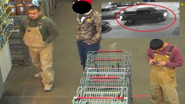 Anyone who recognizes the people of interest should contact police (Credit: Herculaneum Police Department )