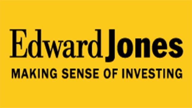 The Edward Jones logo (Credit: Edward Jones)