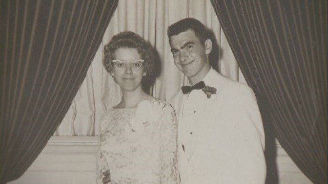 Peggy, right, and Ken Hall have been married for 63 years. They are affected by the shutdown of the healthcare facility. (Credit: The Hall Family)