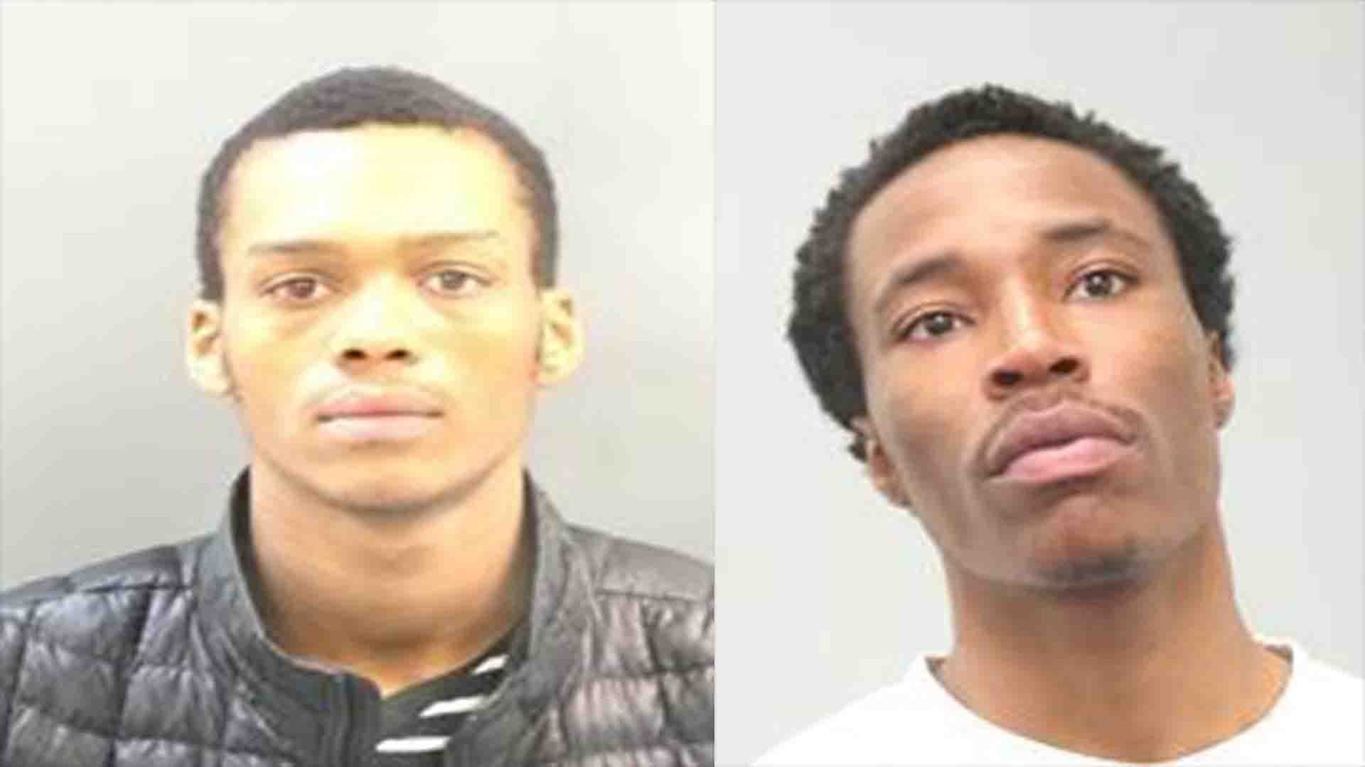 Demond Wilson, 19, and Jesse Boone, 21, are charged with robbery 2nd.