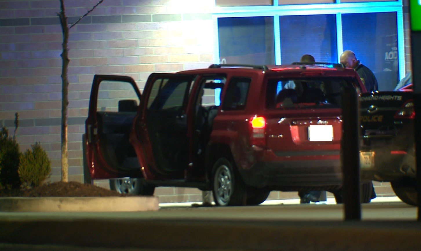 Victims of the shooting pulled into a QT parking lot in Richmond Heights early Sunday morning (KMOV)