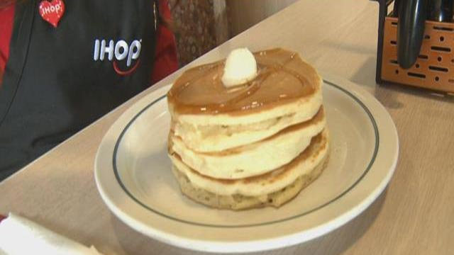 A stack of IHOP pancakes (Credit: KMOV)