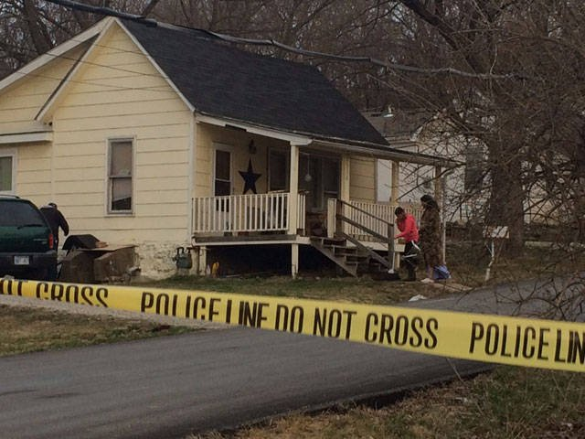 When officers arrived on the scene, they found three men in their early 30s dead from apparent gunshot wounds. A fourth victim was taken to an area hospital where he later died from apparent gunshot wounds. (Brandon Richard/KCTV5 News)