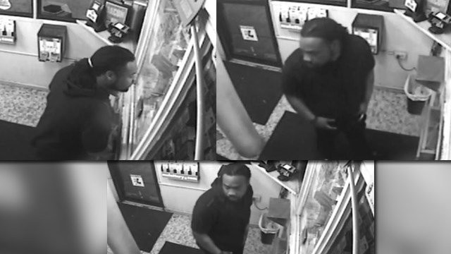 St. Louis PD is asking for help in identifying this man, (Credit: SLPD).