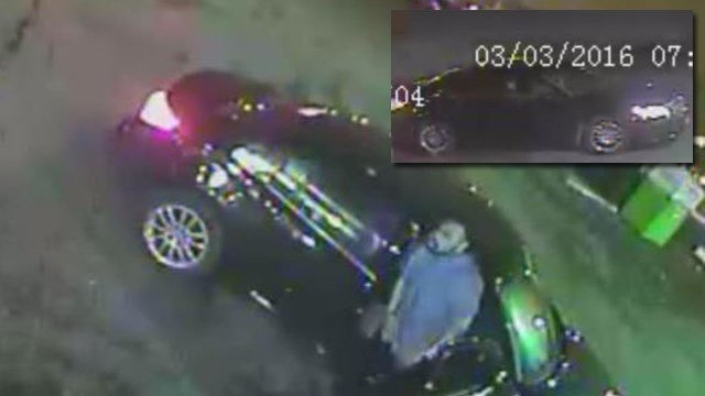St. Louis PD is asking for help in identifying this car and its passenger. (Credit: SLPD).