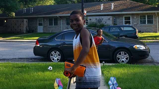 Maurice Richards, 11, was hit and killed by a car in East St. Louis Wednesday night. Credit:  East St. Louis Police
