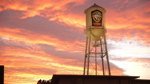 The Warner Brothers water tower at the 2014 International 3D and Advanced Imaging Society's Creative Arts Awards at the Steven J. Ross Theatre, Warner Bros. Studios on January 28, 2014 in Burbank, California. (Photo by Todd Williamson)