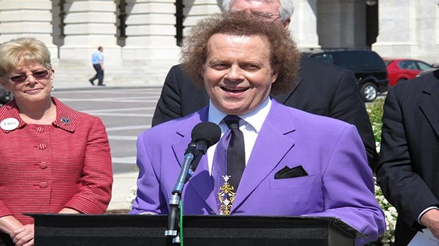 """While there is no actual evidence that Richard Simmons is """"missing,"""" that hasn't stopped the Internet from looking for the fitness guru. (Credit: Paul Courson / CNN)"""