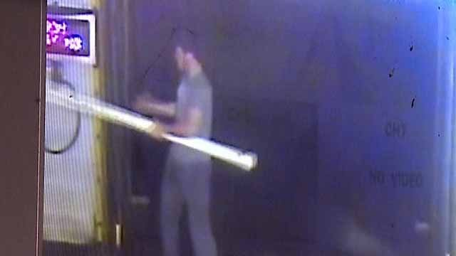 Several teens were caught on camera destroying property at Classic Car Wash in South County on March 13. Credit: KMOV