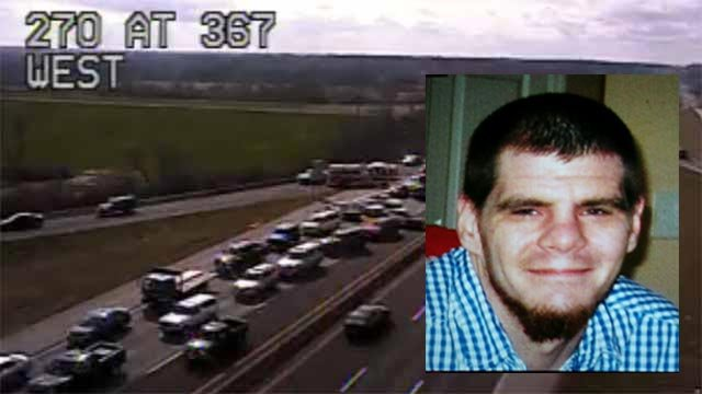 Chad Moore, 29, was killed in a crash on eastbound I-270 Monday afternoon (Credit: Amy Myers)