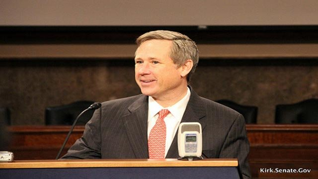 U.S. Sen. Mark Kirk of Illinois (Credit: Kirk.Senate.gov)