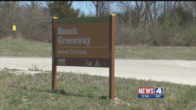 Land for a proposed asphalt plant in St. Charles Co is very close to the Busch Wildlife Center. Credit: KMOV