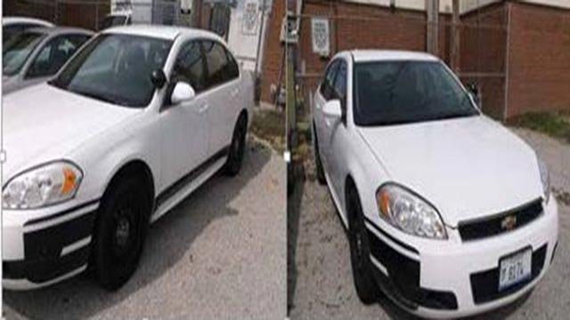 The Highland, Illinois Police Department is selling 3 squad cars and 2 seized vehicles (Credit: KMOV)