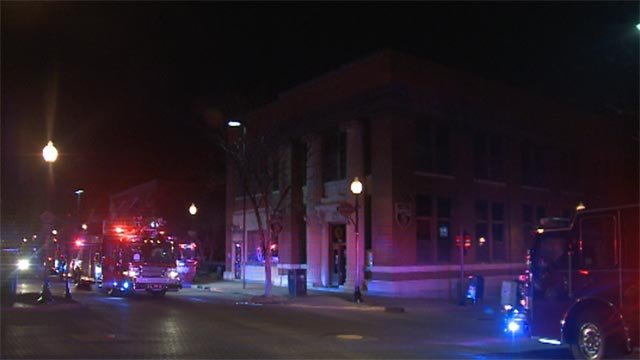 Firefighters were called to Llywelyn's pub in downtown St. Charles early Tuesday morning.  (Credit: KMOV)