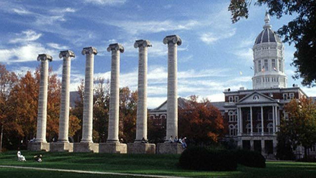 A photo from the University of Missouri campus (Credit: University of Missouri)