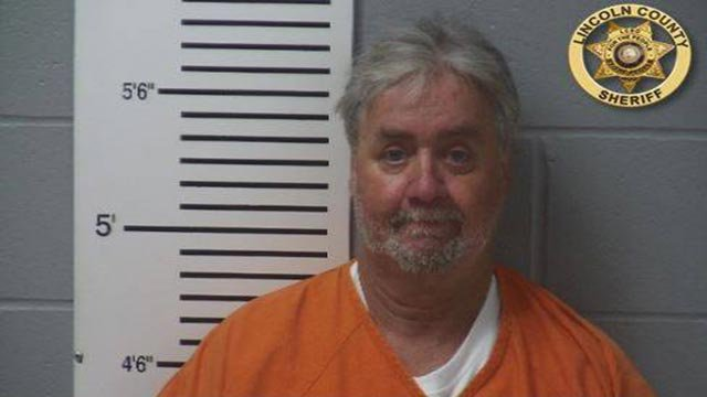 Richard Phillips, 61, is accused of shooting his son in the back during an argument (Credit: Lincoln County Sheriff's Office)