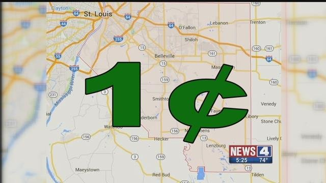 Some in O'Fallon, IL and Shiloh, IL want to implement a 1 cent sales tax to help schools. Credit: KMOV