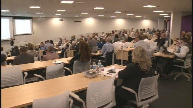 Joint Counterterrorism Workshop in St. Louis (Credit: KMOV)
