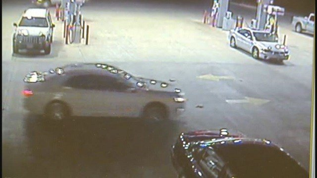 Police searching for stolen 2012 Ford Fusion, license plate WH8P7T (Credit: Foristell PD)