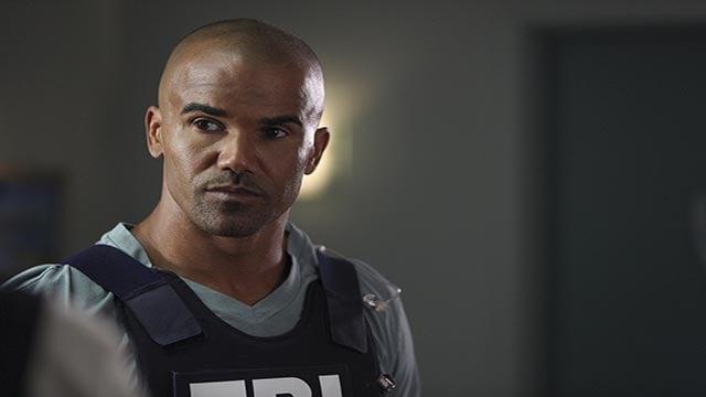 Shemar Moore in an episode of Criminal Minds (Credit: CBS / Criminal Minds)