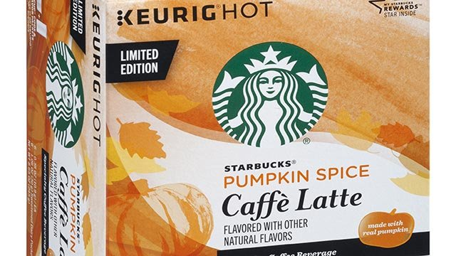 Starbucks (SBUX) announced that it's launching a new line of K-cups featuring the popular Pumpkin Spice Latte flavor. (Credit: Starbucks)