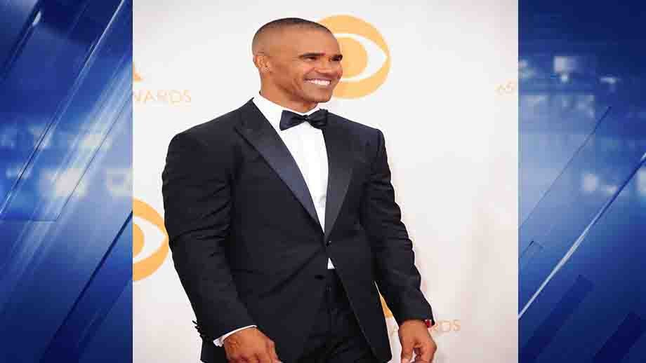 Shemar Moore arrives at the 65th Annual Primetime Emmy Awards.