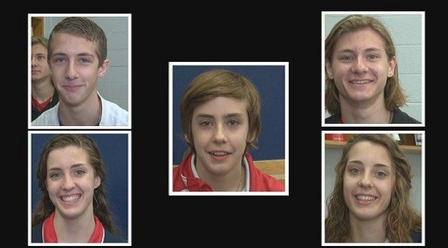The Gossers are attending Bishop DuBourg High School at the same time. (Credit: KMOV)