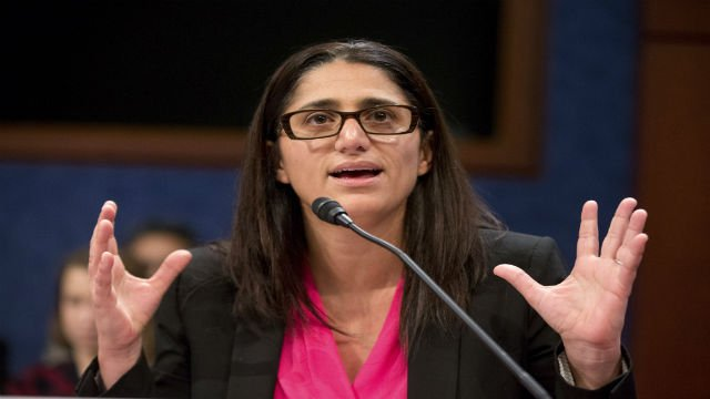 In this Feb. 10, 2016 file photo, Hurley Medical Center Pediatric Residency Program Director Dr. Mona Hanna-Attisha speaks during a House Democratic Steering and Policy Committee hearing on The Flint Water Crisis on Capitol Hill in Washington. (AP Photo)