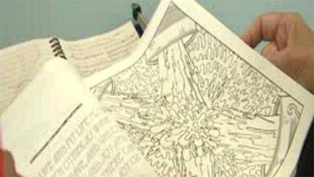 'Painting for Peace' coloring book (Credit: KMOV)