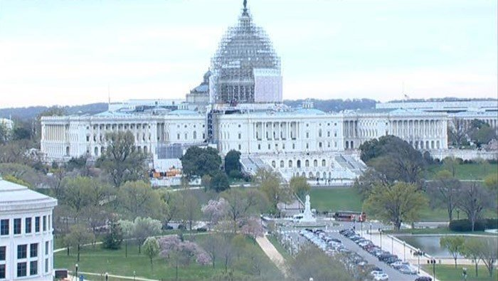 U.S. Capitol police ordered staff to shelter in place amid reports of shots fired at the Capitol Visitors Center on Monday. (Source: CNN)