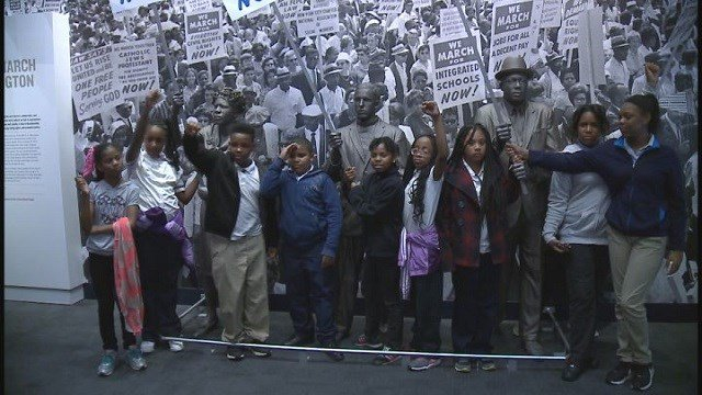 Koch Elementary students visited the National Civil Rights Museum in Memphis. (Credit: KMOV)