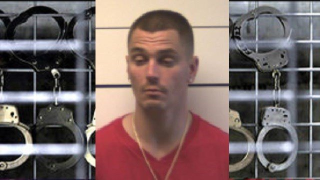 Shaun Wilga was arrested for the robbery on Tuesday. (Credit: O'Fallon Police Department)