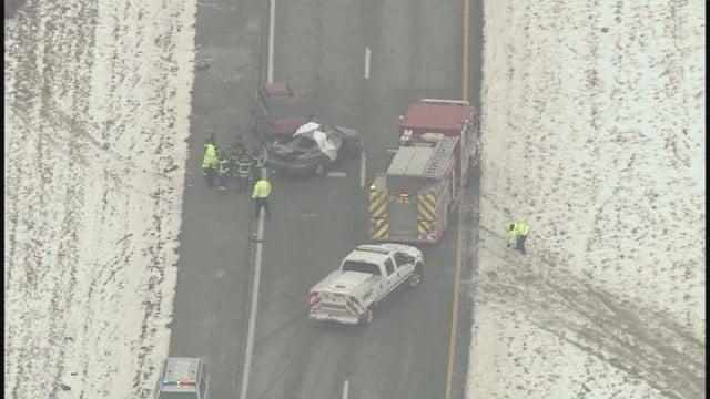 Fatal car crash on January 28 on Hwy 61 (Credit: KMOV)
