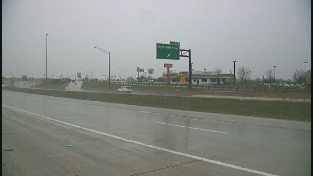 Stretch of I-70 in St. Charles County (Credit: KMOV)