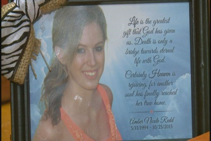 Amber Redd killed in road rage accident on I-70 in St. Charles County (Credit: KMOV)
