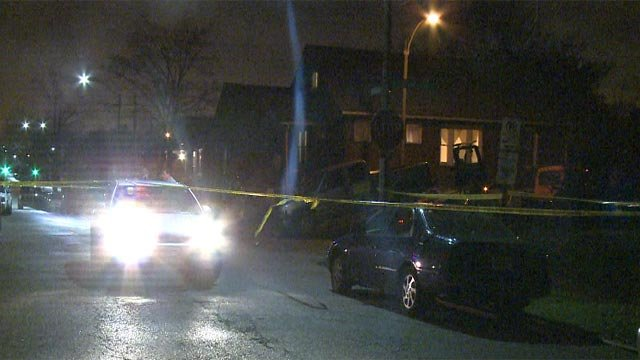 A man was shot and killed on South Spring and Winnebago early Thursday morning. (Credit: KMOV)