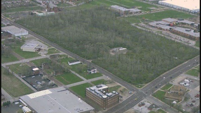 Location of NGA's new facility in north St. Louis (Credit: KMOV)