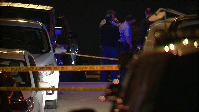 Investigators were called to the 2200 block of January after a fatal shooting Sunday night (Credit: KMOV)