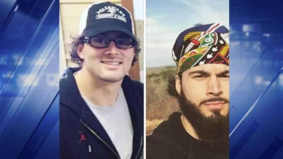 Police are looking for Brandon Bourbon, 24. Authorities believe the photo on the left shows what he currently looks like. Credit: KMOV