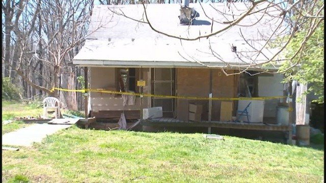 Powerful explosion went off inside a Catawissa, Mo. home (Credit: KMOV).