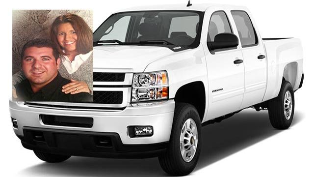Jonathan was last known to drive a white 2013 Chevrolet Silverado with Illinois License plate 1208565. (Credit: Jersey County Sheriff's Office)