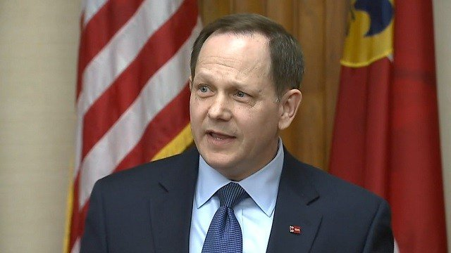Mayor Slay announced he will not seek re-election Friday, April 8. (KMOV)