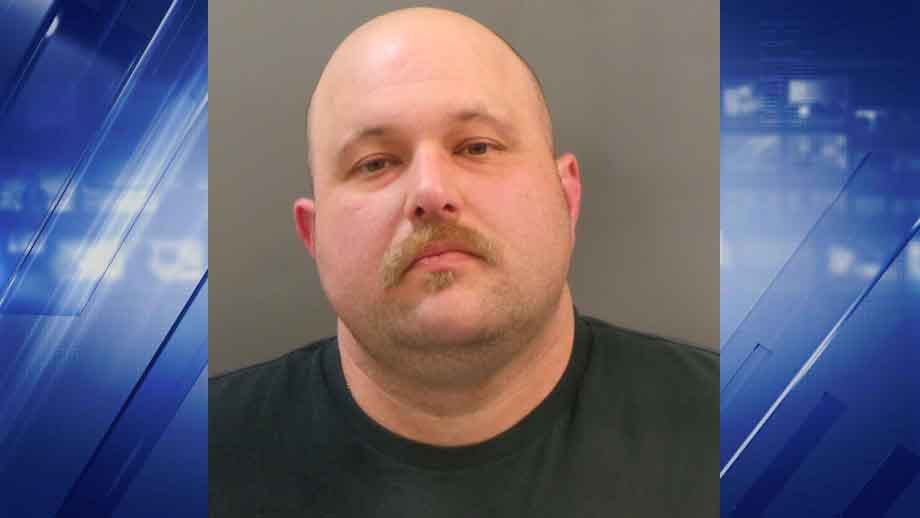 Jeffrey Trares, a St. Louis Police officer, was off-duty and allegedly drunk when he allegedly crashed into a firefighter's car in South City. Credit: SLMPD