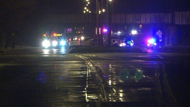 The driver of a stolen car was killed in an accident on Riverview Sunday night. (KMOV)