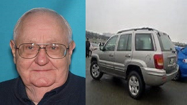 Harland Horn & his silver 2001 Jeep Grand Cherokee, license plate KD3-G4J, have been missing since 10:30 a.m. on April 11 (Credit: Jefferson County Sheriff's Office)