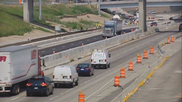 Illinois legislators are looking into ways to tax drivers to help with road maintenance. (Credit: KMOV)