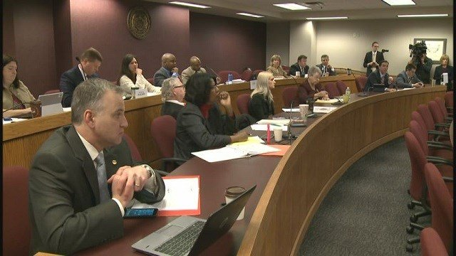 Hearing in Jefferson City over April 5 debacle at the polls in St. Louis County (Credit: KMOV)