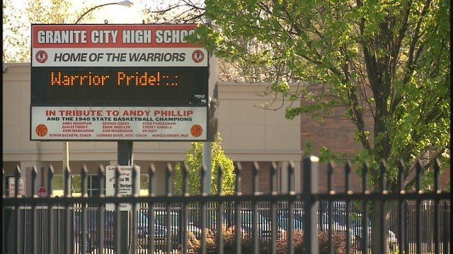 Granite City High School (Credit: KMOV)