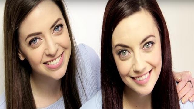 Niamh met her Doppelganger through twinstrangers.net (Credit: Niamh  Geaney / YouTube / twinstrangers.net)